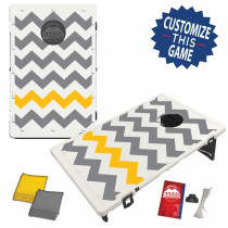 Chevron Pattern Gold/Grey (setup)