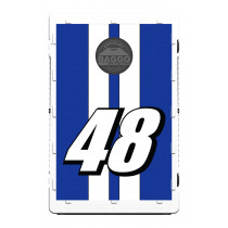Race Car Race Stripe With Custom Colors & Number Screens (only) By BAGGO