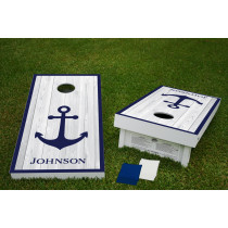 Anchor Regulation Wooden Cornhole Bean Bag Toss Tailgate Game 24x48 with 8 Official 16oz Bags