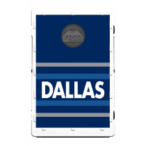 Dallas Navy Horizon Screens (only) by Baggo