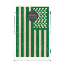 Green Irish Shamrock American Flag Screens (only) by Baggo
