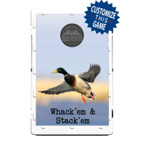 Double Banded Mallard Duck in Flight Screens (only) by Baggo