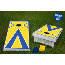 Baggo #2 Regulation Wooden Cornhole Bean Bag Toss Tailgate Game 24x48 with 8 Official 16oz Bags