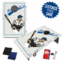 Baseball Player Bean Bag Toss Game by BAGGO