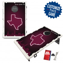 College Station Texas Fanatic #2 Bean Bag Toss Game by BAGGO