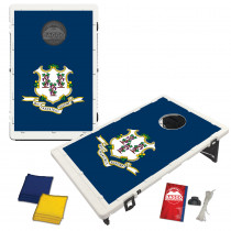 Connecticut State Flag Bean Bag Toss Game by BAGGO