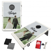 Custom Wedding Baggo Bag Toss Game by BAGGO