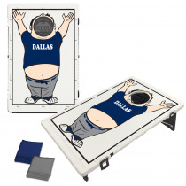 Dallas Navy Baggo Fan Bag Toss Game by BAGGO