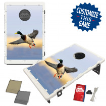 Double Banded Mallard Duck in Flight Bean Bag Toss Game by BAGGO