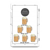 6 Beer Mugs Drink Screens (only) by Baggo