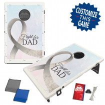 Fight for DAD Bean Bag Toss Game by BAGGO