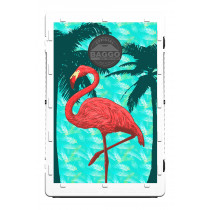 Flamingo Palm Paradise Screens (only) by Baggo