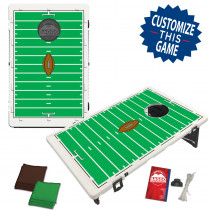 Football Field Bean Bag Toss Game by BAGGO