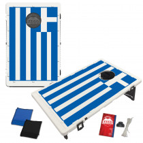 Flag of Greece Bean Bag Toss Game by BAGGO