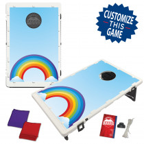 Happy Times Rainbow Bean Bag Toss Game by BAGGO