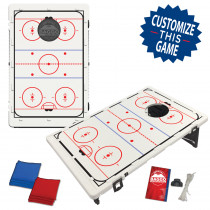Hockey Ice Rink Bean Bag Toss Game by BAGGO