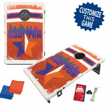 Houston Texas Skyline Bean Bag Toss Game by BAGGO