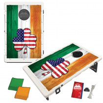 Irish Flag American Shamrock Bean Bag Toss Game by BAGGO