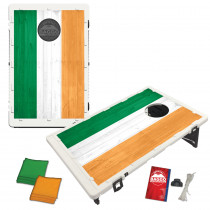 Irish Flag Wood Baggo Bean Bag Toss Game by BAGGO