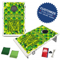 Irish Plaid Bean Bag Toss Game by BAGGO