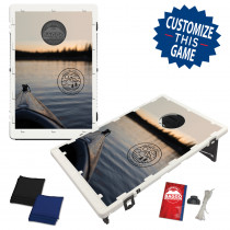Kayak on Lake Bag Toss Game by BAGGO