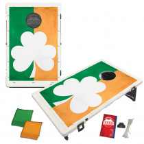 Large Shamrock Baggo Bean Bag Toss Game by BAGGO