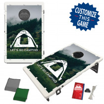 Let's Go Camping Bean Bag Toss Game by BAGGO