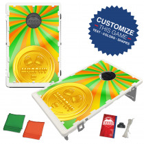 Lucky Coin Bean Bag Toss Game by BAGGO