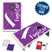 Lupus Awareness Ribbon Bean Bag Toss Game by BAGGO