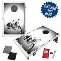 Motorcycle Bike Bean Bag Toss Game by BAGGO