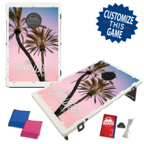 Palm Wedding Baggo Bag Toss Game by BAGGO