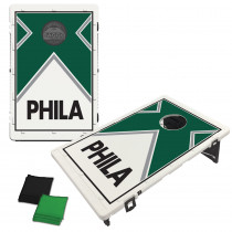 Philadelphia Green Vintage Bag Toss Game by BAGGO