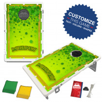 Raining Shamrocks Bean Bag Toss Game by Baggo