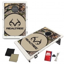 Real Tree APG Vortex Baggo Bean Bag Toss Portable Cornhole Game