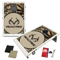 Real Tree Max 4 Vortex Baggo Bean Bag Toss Portable Cornhole Game