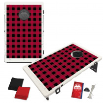 Red Plaid Flannel Bean Bag Toss Game by BAGGO