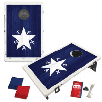 Republic of Texas Wood Background Bag Toss Game by BAGGO