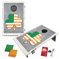 Shamrock American Flag Baggo Bean Bag Toss Game by BAGGO