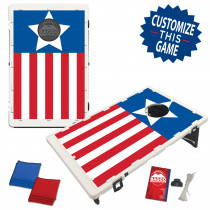 One Star American Flag Bag Toss Game by BAGGO