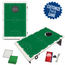 Soccer Field Bean Bag Toss Game by BAGGO