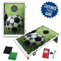 Soccer Kick Bean Bag Toss Game by BAGGO