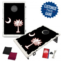 South Carolina Palmetto Black Flag Bean Bag Toss Game by BAGGO