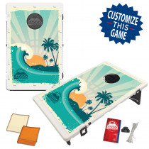 Sunset Wave Bean Bag Toss Game by BAGGO