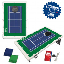 Tennis Court Bean Bag Toss Game by BAGGO