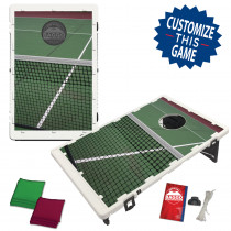 Tennis Net & Court Bean Bag Toss Game by BAGGO