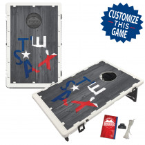 Texas Star Outline Bean Bag Toss Game by BAGGO
