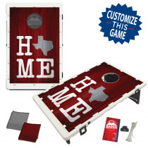 Texas Home Maroon Bag Toss Game by BAGGO