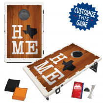 Texas Home Orange Bag Toss Game by BAGGO