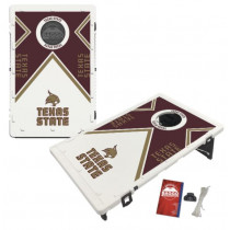 Texas State Bobcats Southwest Texas Bean Bag Toss Game by BAGGO