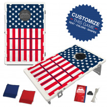 Tic Tac Flag Bean Bag Toss Game by BAGGO